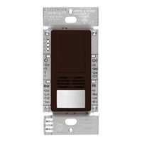 Brown - Passive Infrared (PIR) Ultrasonic Vacancy Sensor - 6 Amp Max. - 120-277 Volt - Neutral Required