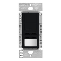 Black - Passive Infrared (PIR) Ultrasonic Dual Circuit Occupancy Sensor - 6 Amp Max. - 120-277 Volt