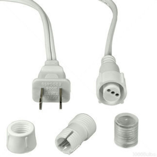 1/2 in. - 120 volt - Incandescent - Rope Light Connector Kit Image