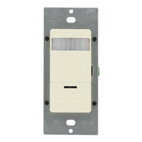 Light Almond - Passive Infrared (PIR) Occupancy Self-Adaptive Sensor - 1800W Max. - 120-277 Volt