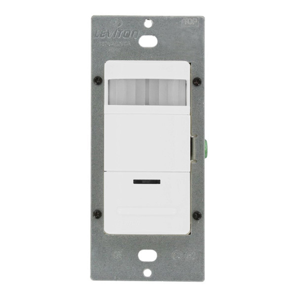 Leviton Decora OSSNL-IDW - White - Passive Infrared (PIR)  Image
