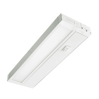 11 in. - Under Cabinet - LED - 6 Watts - 350 Lumens Per 11 in. - 3000 Kelvin Halogen White - White - Hardwired or Plug-In