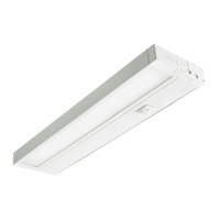 14 in. - Under Cabinet - LED - 8 Watts - 500 Lumens Per 14 in. - 3000 Kelvin Halogen White - White - Hardwired or Plug-In - KOBI K7M6