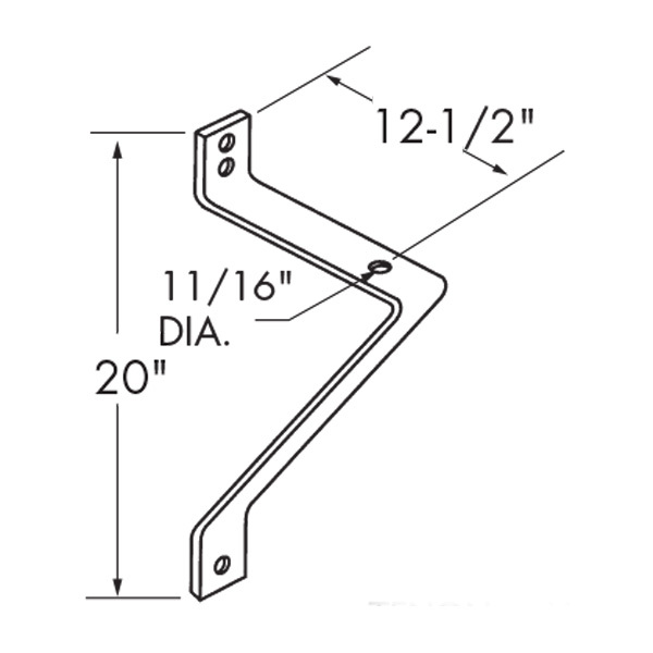 Side Angle Bracket  Image