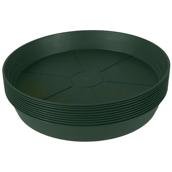 16 in. Green Heavy Duty Saucer Image