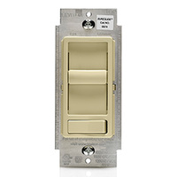 Decora CFL/LED or Incandescent Dimmer - Single Pole/3-Way - 600 Watt Max.