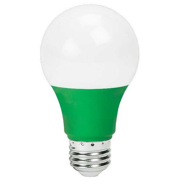 Green - LED - A19 - 4.5 Watt Image