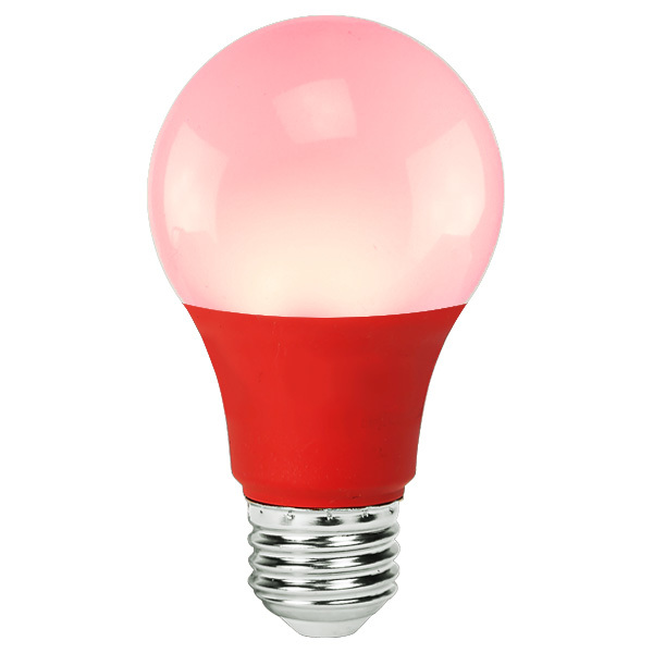 Red - LED - A19 - 4.5 Watt Image