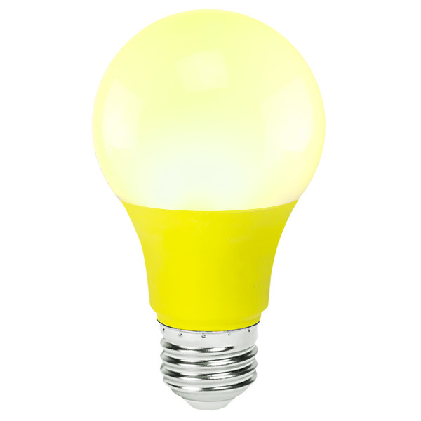 Yellow - LED - A19 - 4.5 Watt Image