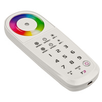 RGB Remote for use with T3-5A LED RGB Controller - Includes USB Charger and Wall Mount Remote Holder - FlexTec T3