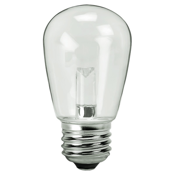 Clear - 1.4 Watt - Dimmable LED - S14 Image