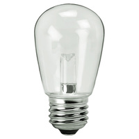 Clear - 1.4 Watt - Dimmable LED - S14 - 120 Volt