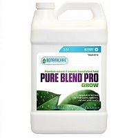 1 gal. - Pure Blend Pro Grow - Vegetative Fertilizer - Hydroponic Nutrient Solution - (3-1.5-4) NPK Ratio - Botanicare BCPBPGGAL
