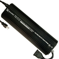 1000 Watt - Growlite 1000 DE Digital Ballast - Powers Multiple Wattages - Dimmable - Operates MH or HPS Lamps - 120-277 Volt - Indoor Grow Science GLB-1000-DE-120/277