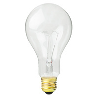 150 Watt - PS25 - Clear - 2000 Life Hours - 2400 Lumens - 130 Volt