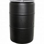 Drum - 55 Gallon - Black Image