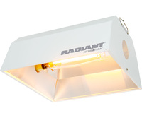 Radiant Reflector - 4 in. Flange Opening - MH or HPS - Mogul Socket - Operates up to 1000 Watt Bulb - HydroFarm RDUN