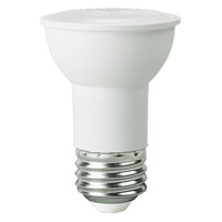 370 Lumens - 3000 Kelvin - LED - PAR16 - 4.5 Watt - 45W Equal - 40 Deg. Flood - CRI  80 - Satco S9386