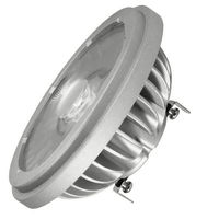 Soraa 01993 - Dimmable LED - 6 Watt - AR111 - 60W Equal - 4 Deg. Narrow Spot - G53 Push-In or Push-Screw Terminal Base - 3000K Halogen White