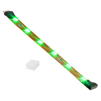 4 in. - Green - LED Tape Light - Dimmable - 24 Volt