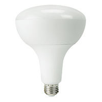 940 Lumens - 3000 Kelvin Halogen White - LED BR40 - 15 Watt - 75W Equal - Dimmable - 120V