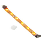 4 in. - Yellow - LED - Strip Light - Dimmable - 24 Volt Image