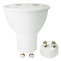 350 Lumens - 3000 Kelvin - LED MR16 - 6 Watt - 35W Equal - 40 Deg. Flood - Color Corrected CRI 90 - Dimmable - 120V - GU10 Base