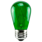 Green - 1 Watt - Dimmable LED - S14 Image