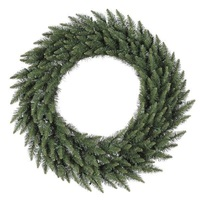 8 ft. Christmas Wreath - Classic PVC Needles - Camdon Fir - Unlit  - Vickerman A861095