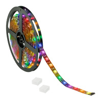10 ft. - RGB Color Changing - LED - High Output - LED Tape Light - Dimmable - 12 Volt