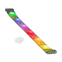 4 in. - RGB Color Changing - LED - High Output - LED Tape Light - Dimmable - 12 Volt