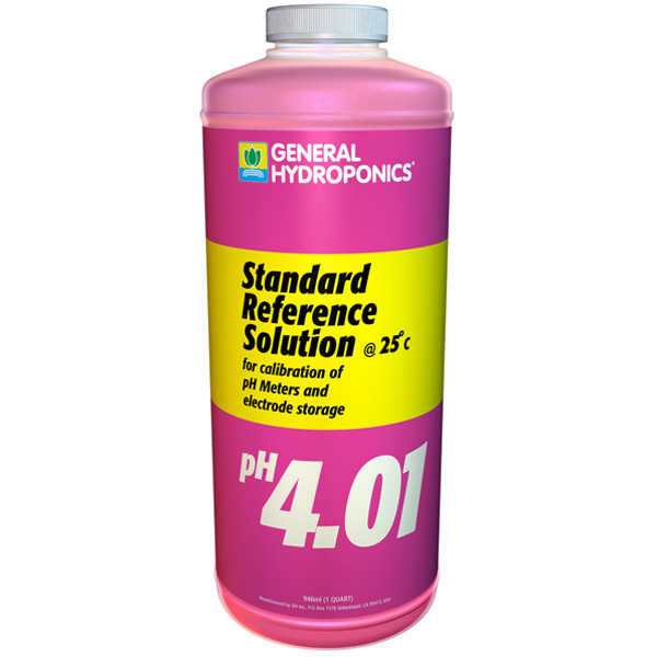 pH 4.01 Standard Reference Solution - 1 qt. Image