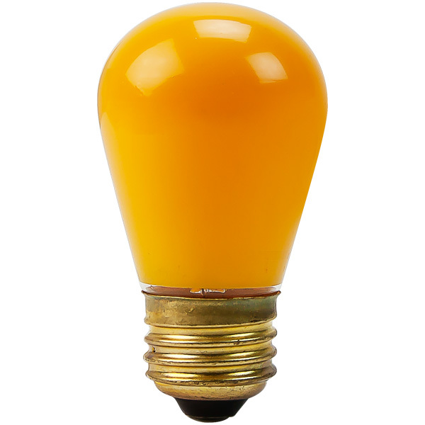 Opaque Yellow - 11 Watt - S14 Image