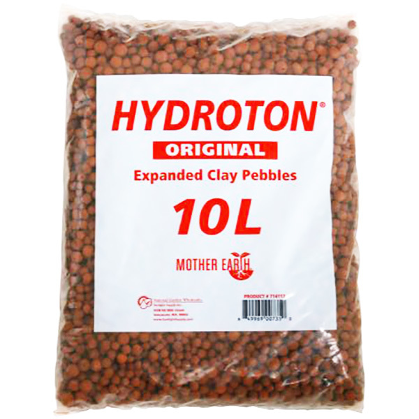 Growing Media - Hydroton Clay Pebbles - 10 Liters Image
