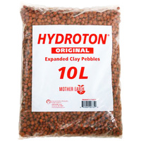 Growing Media - 10 Liters - Hydroton Clay Pebbles - Mother Earth