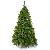9.5 ft. x 54 in. - Slim Cashmere Fir - 2168 PE/PVC Tips - Unlit - Vickerman Artificial Christmas Tree