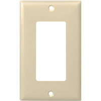 Almond - 1 Gang - Mid Size - Decorator Wall Plate - Enerlites 8831M-A