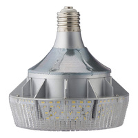 10,798 Lumens - 100 Watt - LED HID Retrofit - 250W MH Equal - 5700 Kelvin - Mogul Base - Vertical Mount - Operates by Bypassing Existing Ballast