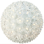 LED - 7.5 in. dia. Warm White Starlight Sphere - Utilizes 100 Wide Angle LED Lights Image