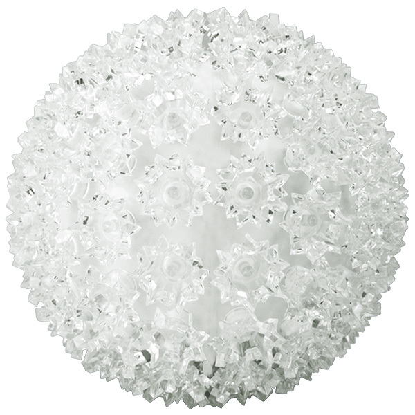 cool white starlight sphere utilizes 100 wide angle