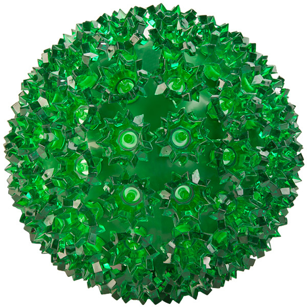 LED Starlight Sphere - (100) Green Lights Image