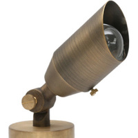 5 Watt - LED Directional Bullet Light - 270 Lumens - Bronze Finish - 3000 Kelvin - 30 Deg. Beam Angle - 12 Volt