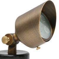 6 Watt - LED Directional Bullet Light - 550 Lumens - Bronze Finish - 3000 Kelvin - 12 Volt - 2 Yr. Warranty