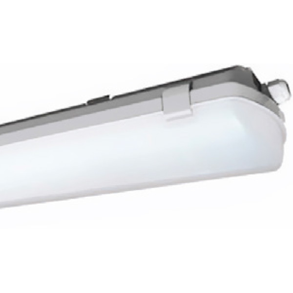 4 Ft Led Vapor Tight Fixture 40w 4977 Lumens Plt 55156