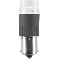 2.3W Single Contact BA15s - LED - 250 Lumens - 20 Watt Equal - 3000 Kelvin - Halogen White - 12 Volt DC Only