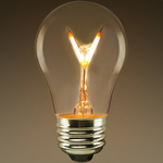 LED - A15 - 2 Watt - 25 Watt Incandescent Equal Image