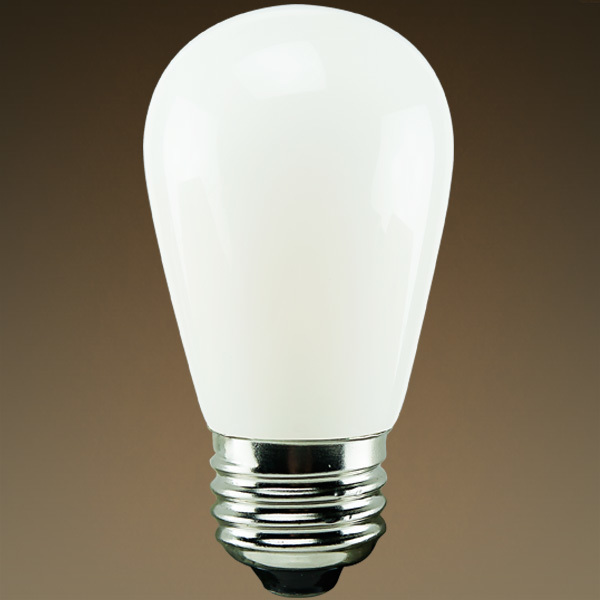 LED S14 Bulb - Color Matched For Incandescent Replacement Image