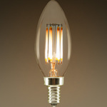 LED Chandelier Bulb - Filament Type - 5 Watt Image