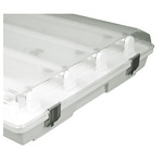 LED Ready, 4 ft. Vapor Tight Fixture, Operates 4 LED Lamps (Not Included), Acrylic Lens, PLT-20051