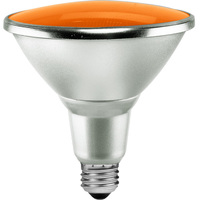 Amber LED - PAR38 - 15 Watt - 90W Equal - 40 Deg. Flood - Wet Location